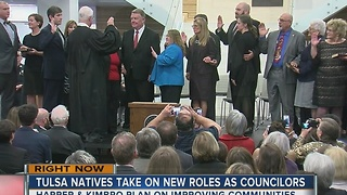 Tulsa Natives Take On New Roles As Councilors - Video