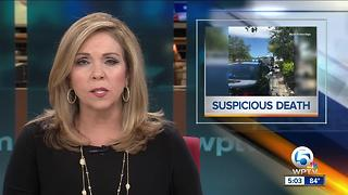 Suspicious death in Stuart - Video