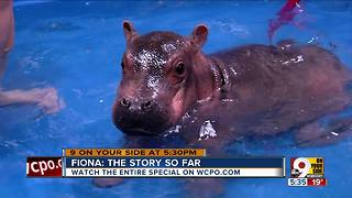 First birthday coming up for Fiona - Video