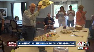Man turns 106 years old, credits gardening to long life - Video