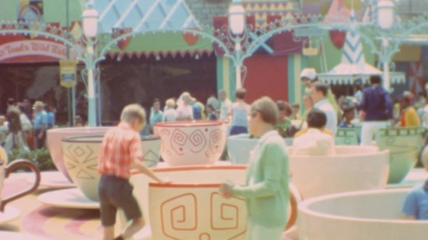 Vintage Footage Shows Early Days Of Disneyland