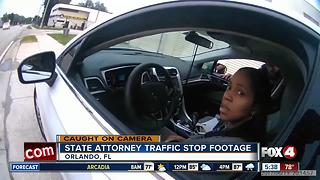 Anti-death penalty prosecutor pulled over in traffic stop - Video