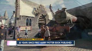Today marks 20 years since the first Harry Potter book was published - Video