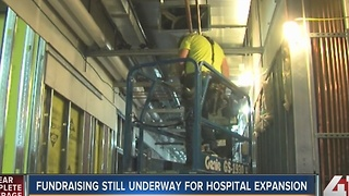 Fundraiser still underway for KU Hospital expansion - Video