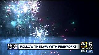 How to celebrate with fireworks legally in Arizona - Video