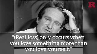 5 Robin Williams Quotes To Live By - Video