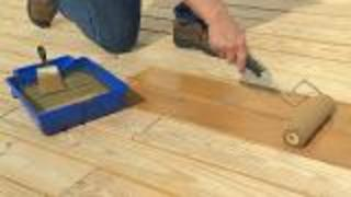 How To Stain A Deck - Video