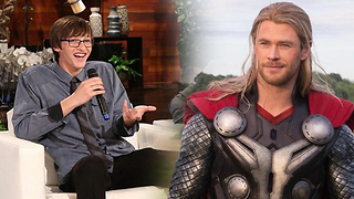 "Teenager Returns ""Thor's"" Wallet And Gets A Massive Reward - Video"