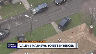 Valerie Mathews to be sentenced - Video