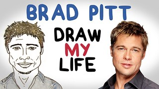 Brad Pitt | Draw My Life - Video