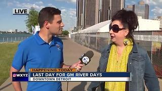 Celebrating the Riverfront at GM River Days - Video