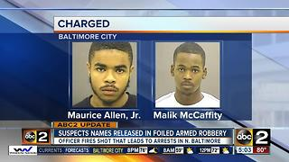 Suspects identified in robbery that led to police-involved shooting - Video