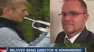 Former band director at Greenfield-Central High School died suddenly on Christmas day - Video