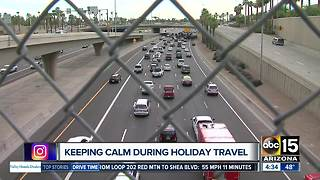 Keeping calm during holiday travel - Video