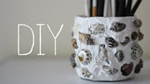DIY: Shell Jar