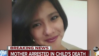 Mother arrested in child's death - Video