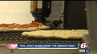 Papa John's raising money for Lebanon Family - Video