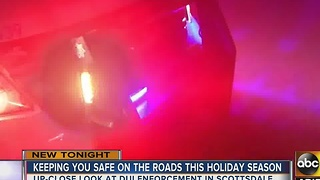 Police increase presence to spot drunk drivers during holiday - Video