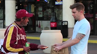 Using Magic to Feed The Homeless - Video
