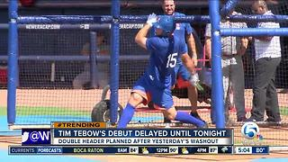 St. Lucie Mets to play double header Wednesday after rainout - Video