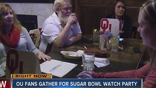 OU Fans Gather For Sugar Bowl Watch Parties - Video