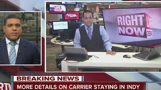 From the Live Desk: The Latest on Carrier - Video