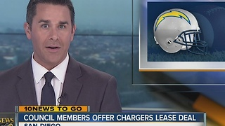 City Council members offer Spanos lease deal - Video