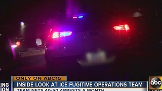 Special Department of Homeland Security team working to remove undocumented immigrants - Video