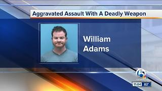William Adams:Priest arrested in Martin County road rage incident - Video