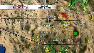 Chief Meteorologist Erin Christiansen's KGUN 9 Forecast Monday, July 10, 2017 - Video