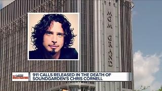 911 calls released in the death of Soundgarden's Chris Cornell