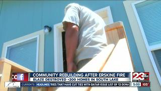 South Lake rebuilding one year after Erskine Fire - Video