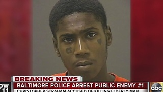 Baltimore Police arrest Public Enemy No. 1