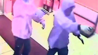 SURVEILLANCE VIDEO: Double homicide at Jordan's Fish & Chicken - Video