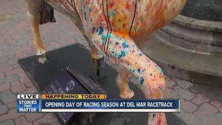 Del Mar Races Opening Day is here - Video