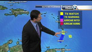 Tropical Storm Don heads toward eastern Caribbean - Video
