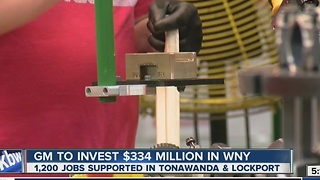 GM to invest in WNY - Video