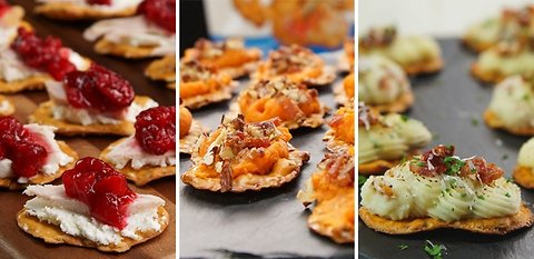 3 Thanksgiving-Inspired Appetizers