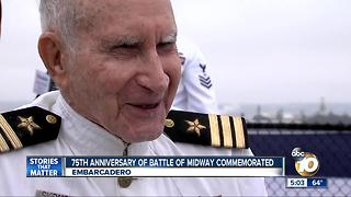 75th anniversary of Battle of Midway commemorated - Video