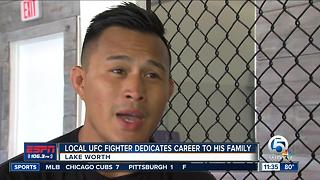 Local UFC fighter Andre Soukhamthath fighting for his family - Video