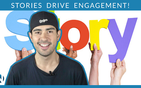 How does story marketing drive engagement?