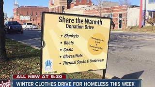 Horizon House holding winter clothes drive for homeless - Video