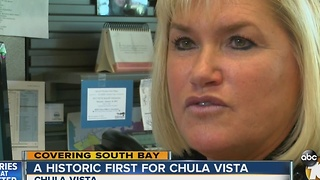 Historic first in Chula Vista: City names first female police chief - Video
