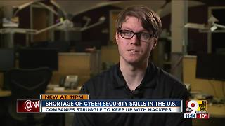 Shortage of cyber security skills in U.S. - Video
