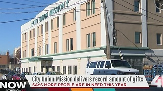 City Union Mission give record number of holiday gifts - Video