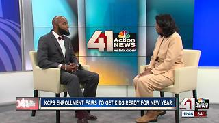 KCPS holds enrollment fairs to get kids ready for new year - Video