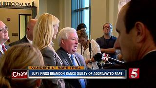 Brandon Banks Found Guilty Of Aggravated Rape, Sexual Battery - Video