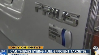Car thieves eyeing new, fuel-efficient targets? - Video