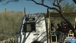 Free electric bus to Sabino Canyon for the holidays - Video