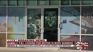 FBI looking for a motive in Bixby blast - Video
